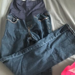 3 pair of maternity jeans